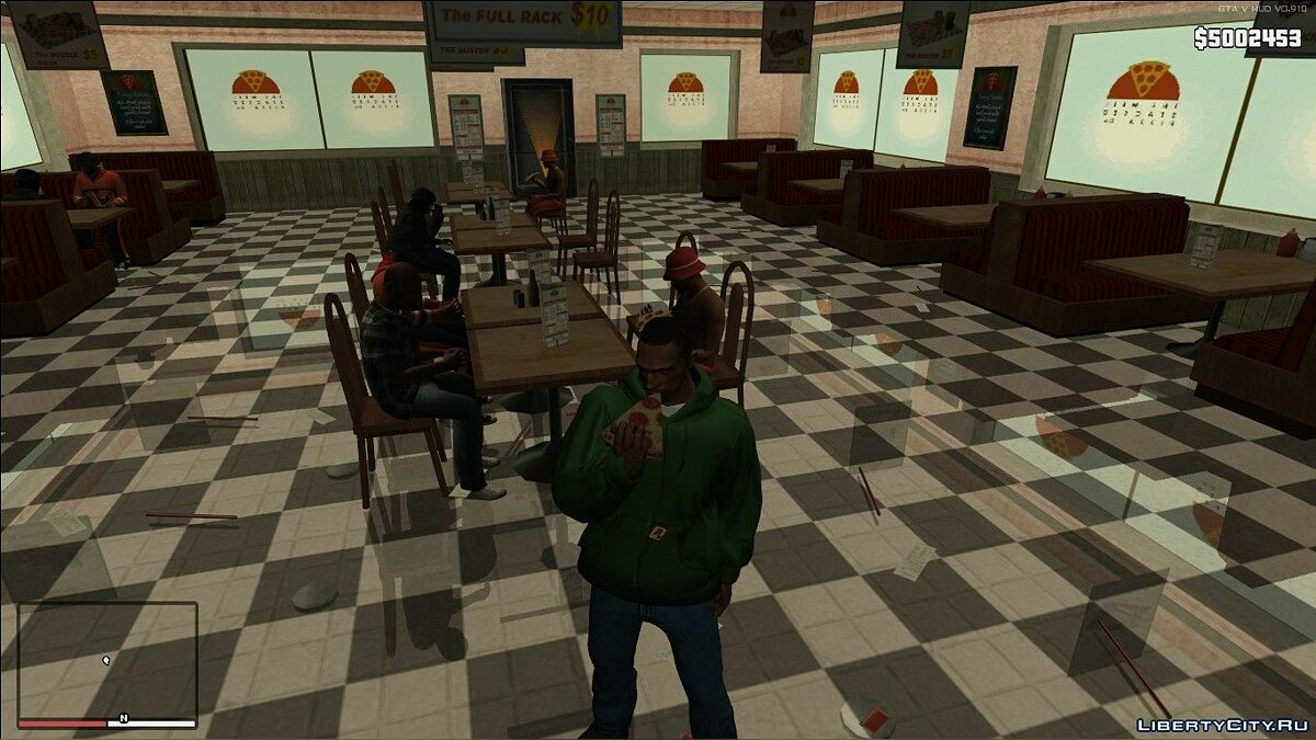 Food Eating Fix v1.2 для GTA San Andreas - скриншот #3