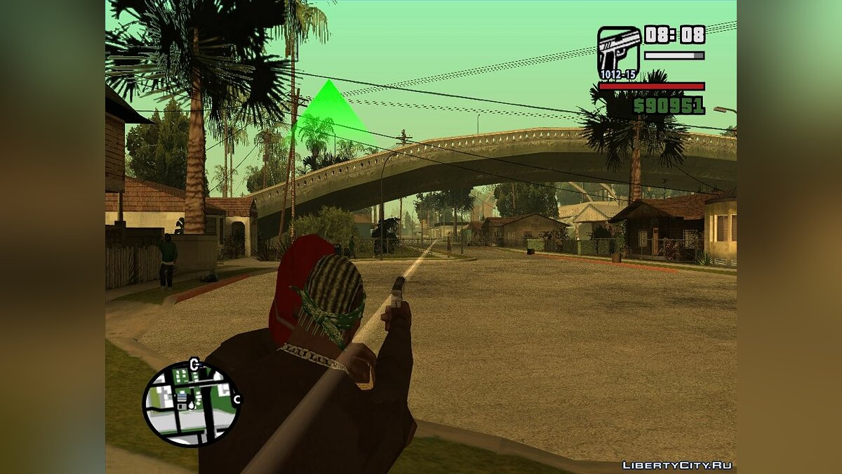 CLEO скрипт Kidnapping the Ped для GTA San Andreas