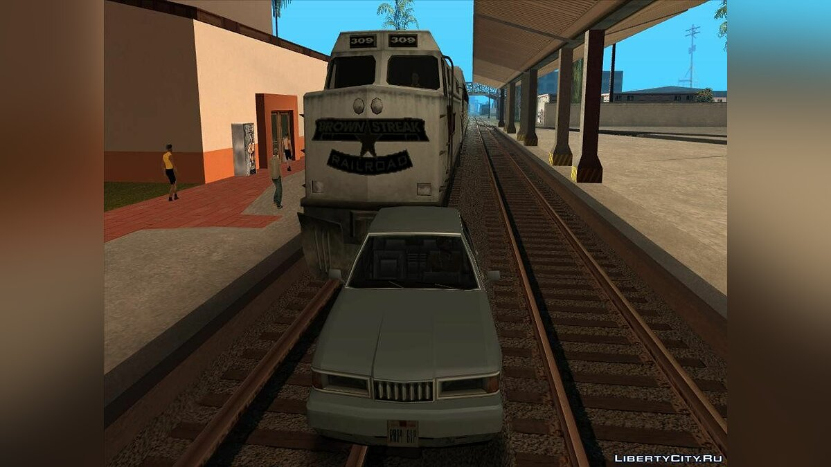 Railway sounds для GTA San Andreas
