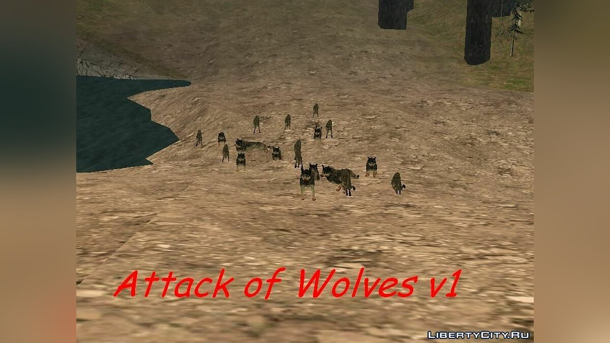 Attack of Wolves v1 для GTA San Andreas
