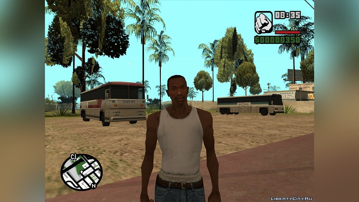 Functionally Parking Area для GTA San Andreas