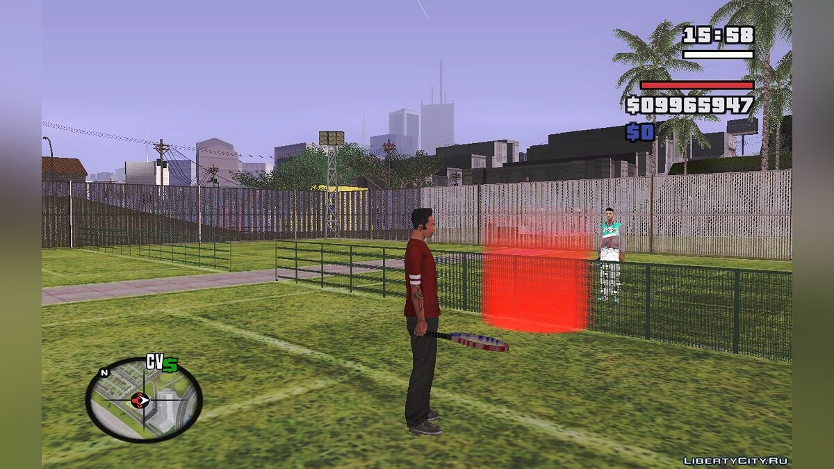 San Andreas Tennis для GTA San Andreas