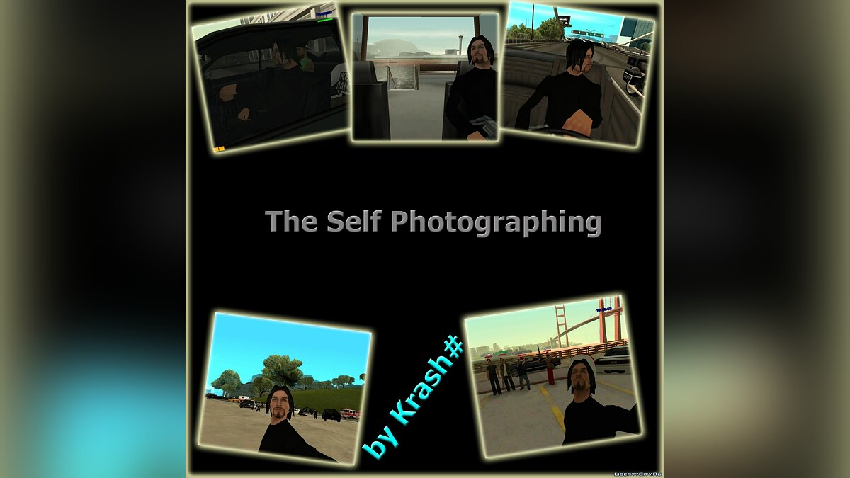 CLEO скрипт Self Photographing by Krash# для GTA San Andreas