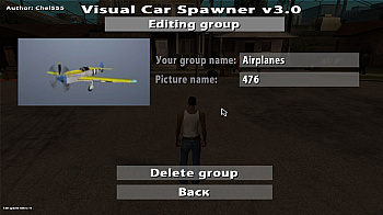 Visual Car Spawner v3.0 для GTA San Andreas - скриншот #10