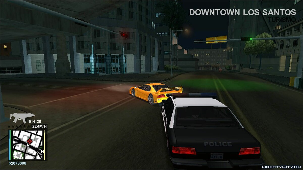 CLEO скрипт Ace Hud - Customizable Hud v2.0.1 для GTA San Andreas
