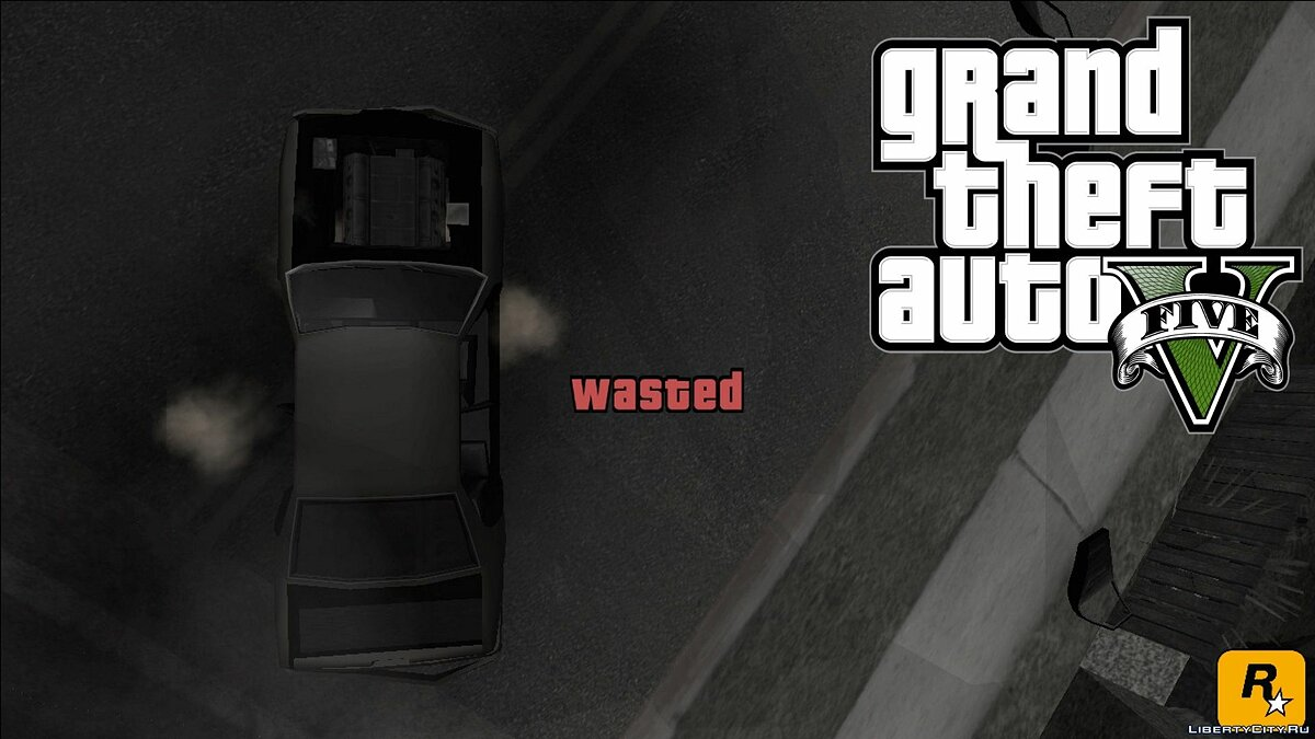 GTA V Wasted and Busted Sound [CLEO] для GTA San Andreas