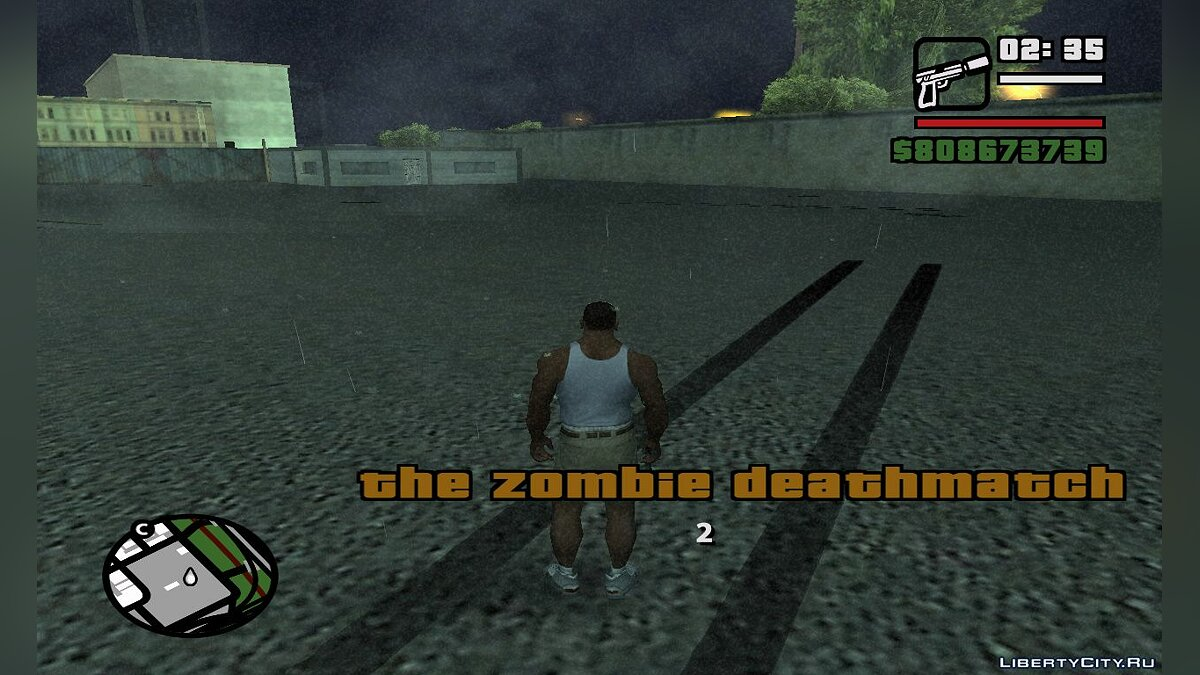 The Zombie Deathmatch для GTA San Andreas - скриншот #7