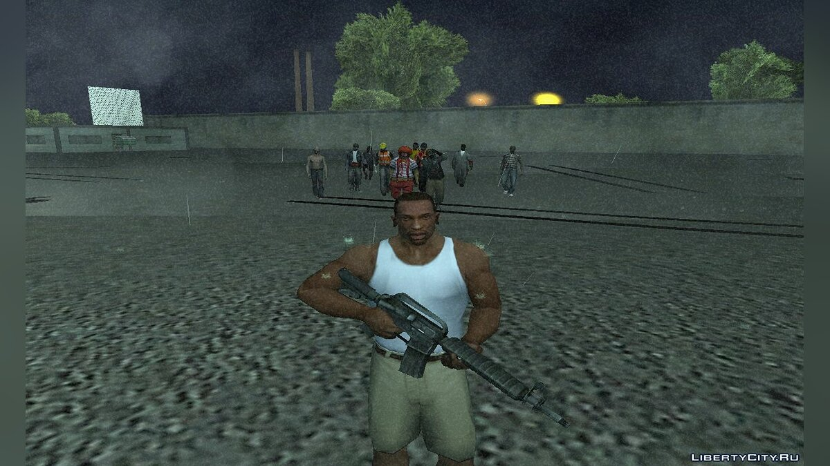 The Zombie Deathmatch для GTA San Andreas