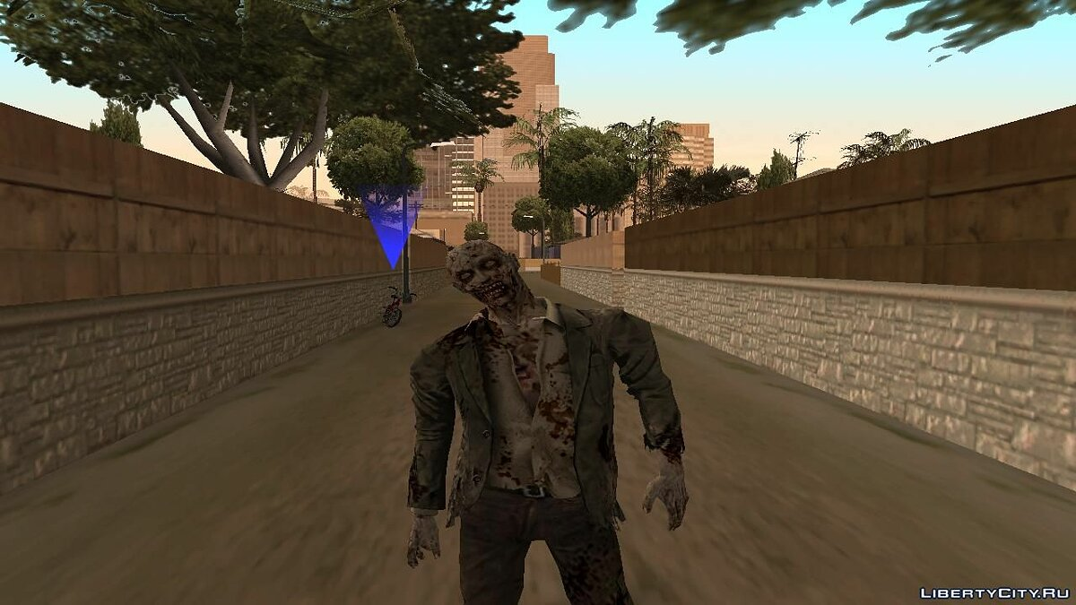 CLEO скрипт I Am Zombie для GTA San Andreas