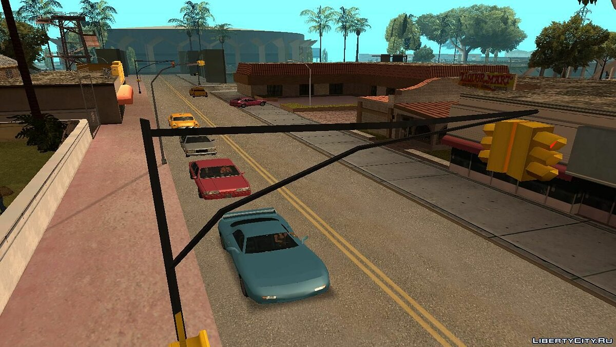 Real Traffic Fix v1.2.1 для GTA San Andreas