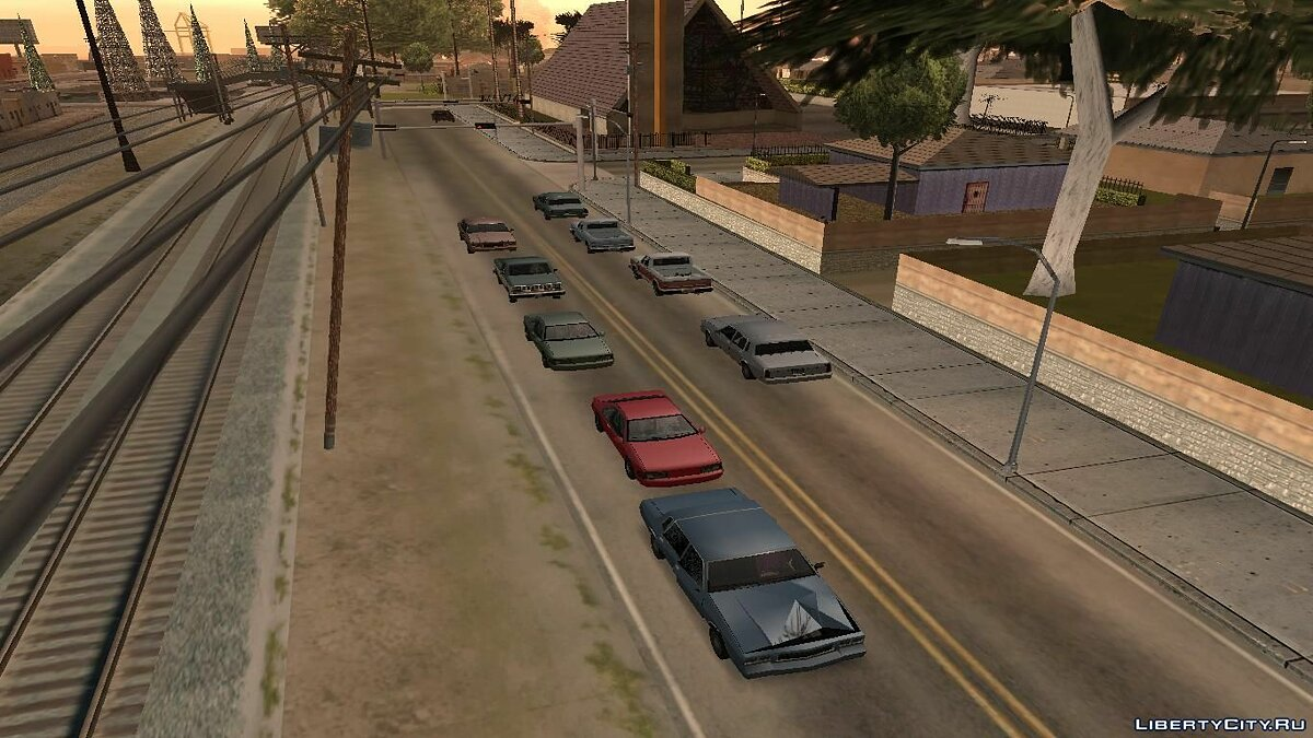 Real Traffic Fix v1.2.1 для GTA San Andreas - скриншот #2