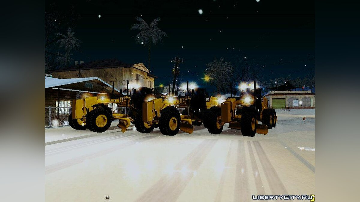 Сельхозтехника Caterpillar 140m3 Motograder для GTA San Andreas