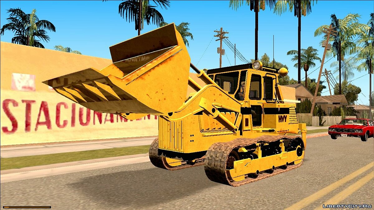 Сельхозтехника HVY Bulldozer GTA V Next Gen для GTA San Andreas