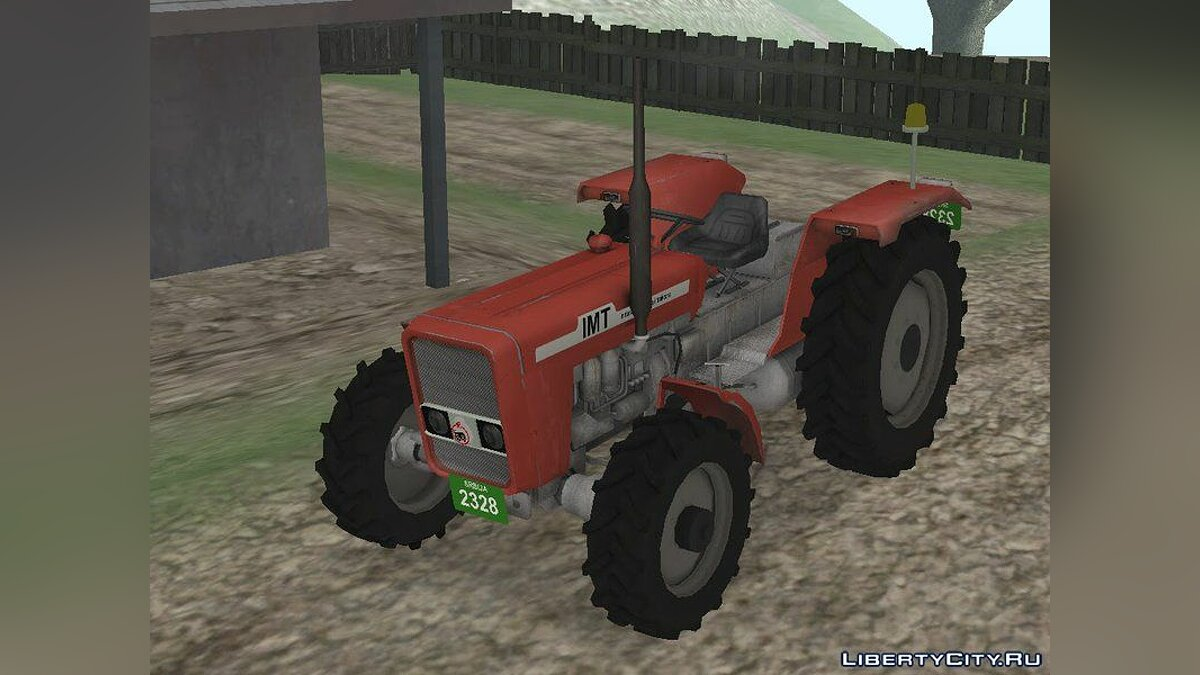 IMT Tractor v3 для GTA San Andreas