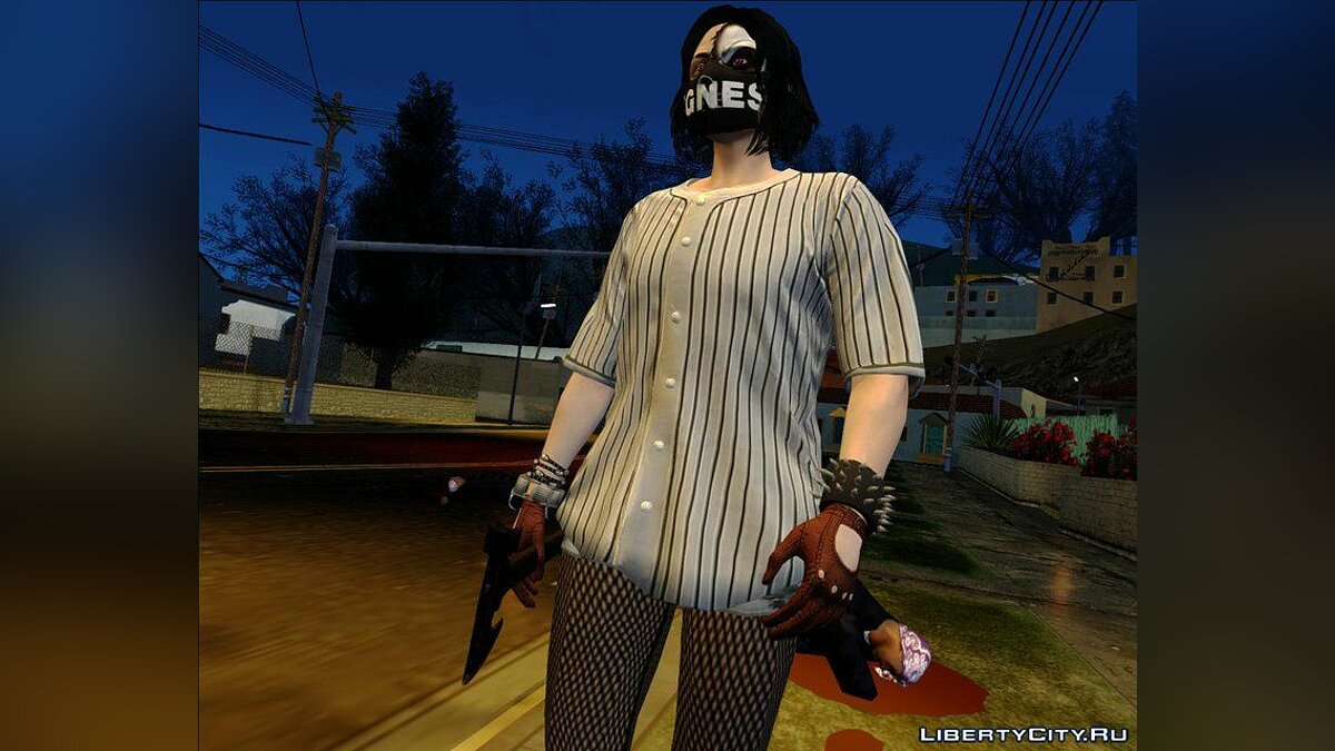 ��борник скинов Halloween Surprise DLC Skin Pack #2 для GTA San Andreas