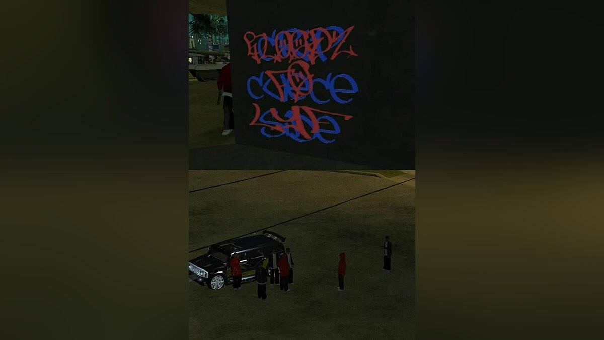 Bloods and Crips Full для GTA San Andreas
