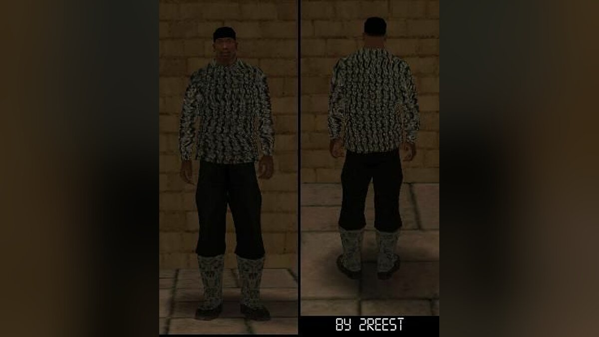 Winter Cloth Pack для GTA San Andreas