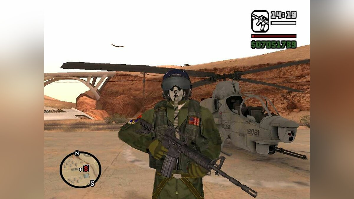 US Air Force Pack для GTA San Andreas