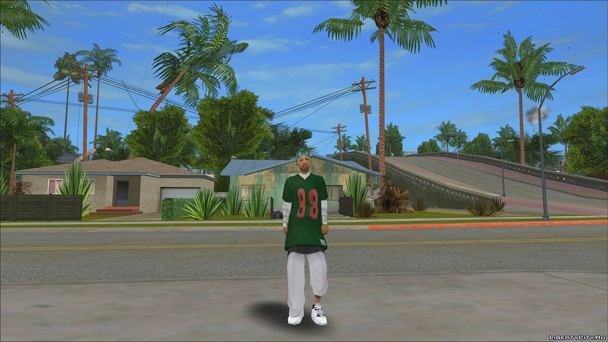 Original Main Characters Improved Smooth Textures [update #1] для GTA San Andreas - Картинка #10