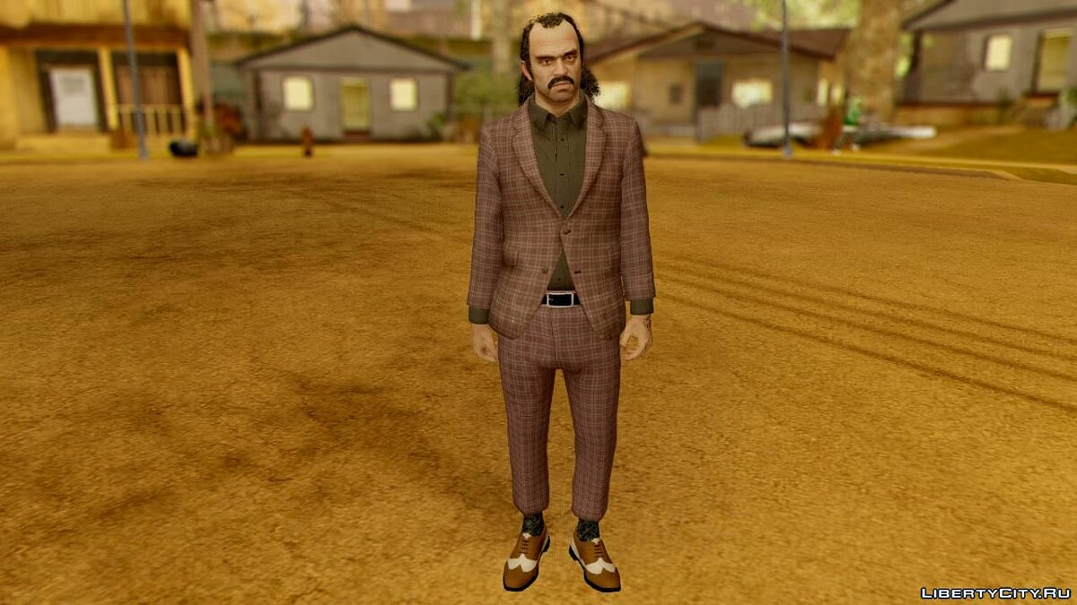 Сборник скинов GTA V Trevor Suit Pack для GTA San Andreas