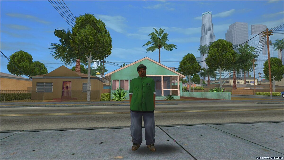 Original Main Characters Improved Smooth Textures [update #1] для GTA San Andreas - Картинка #6