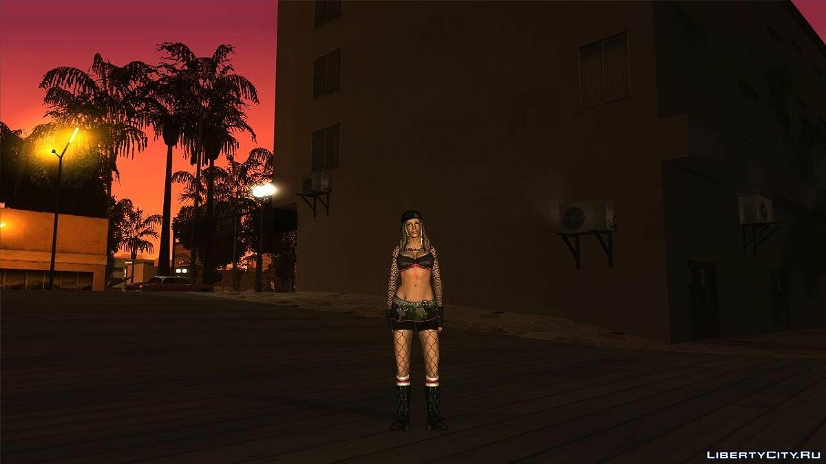 Smackdown Vs Raw Diva Mini-Pack для GTA San Andreas - скриншот #2