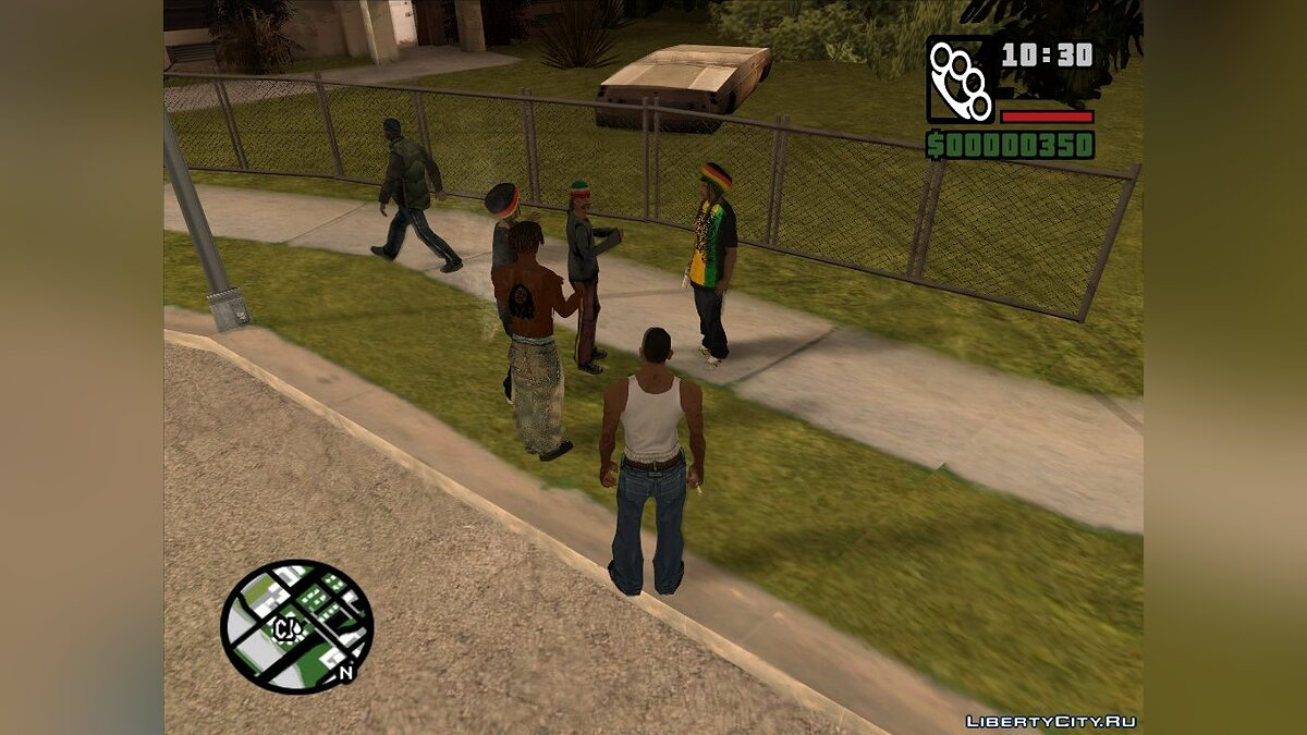 Rastamans Gang для GTA San Andreas