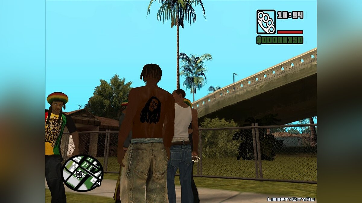 Rastamans Gang для GTA San Andreas - скриншот #4