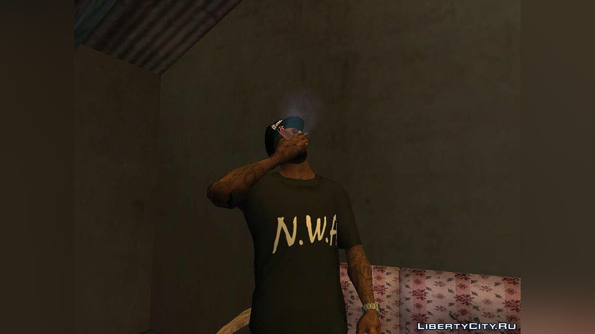 Pack Clothes N.W.A To Cj HD для GTA San Andreas - скриншот #2
