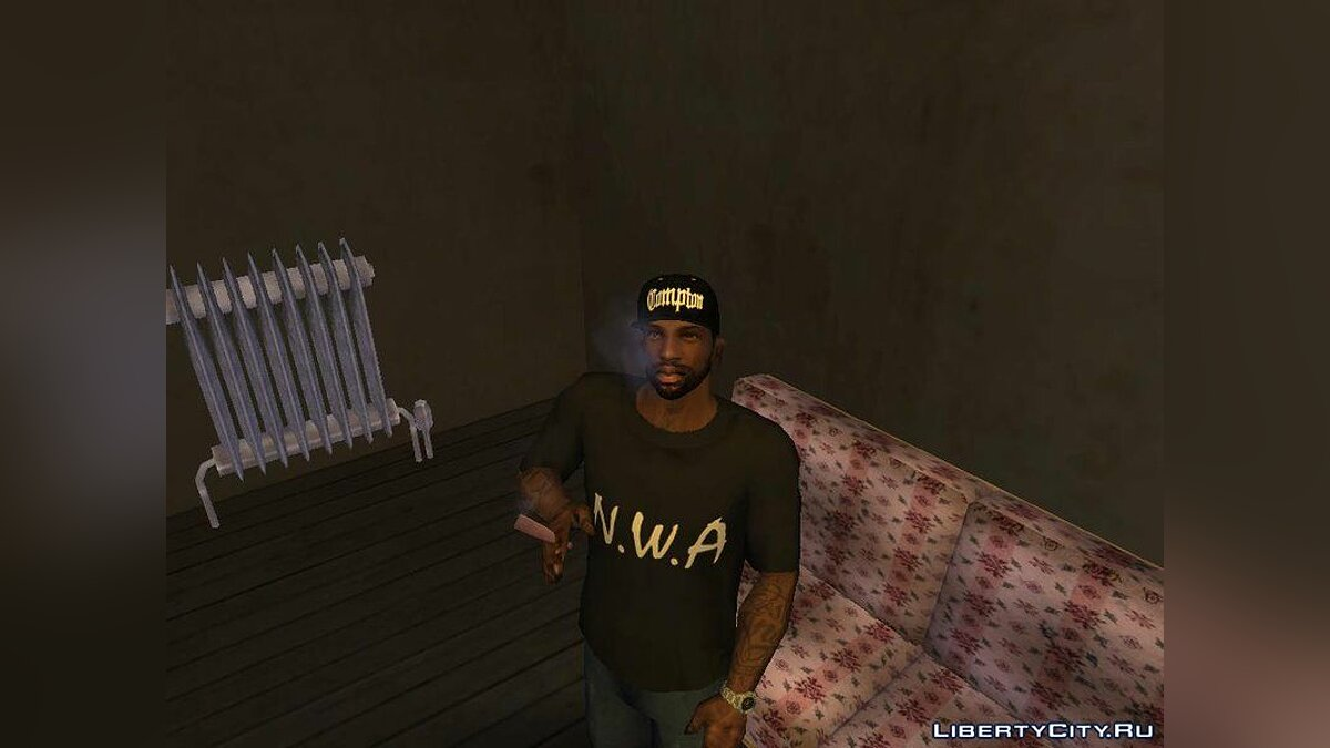 Pack Clothes N.W.A To Cj HD для GTA San Andreas - скриншот #3