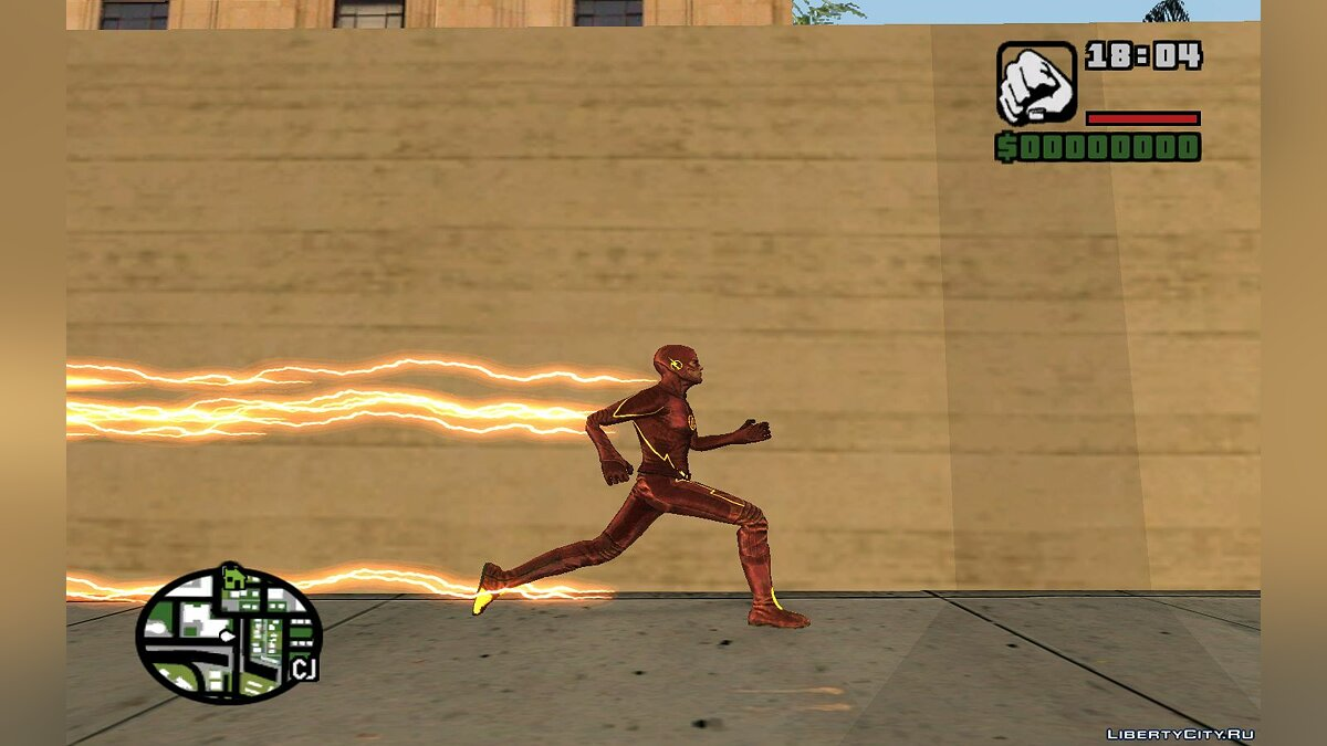 The Flash TV Pack для GTA San Andreas - скриншот #13