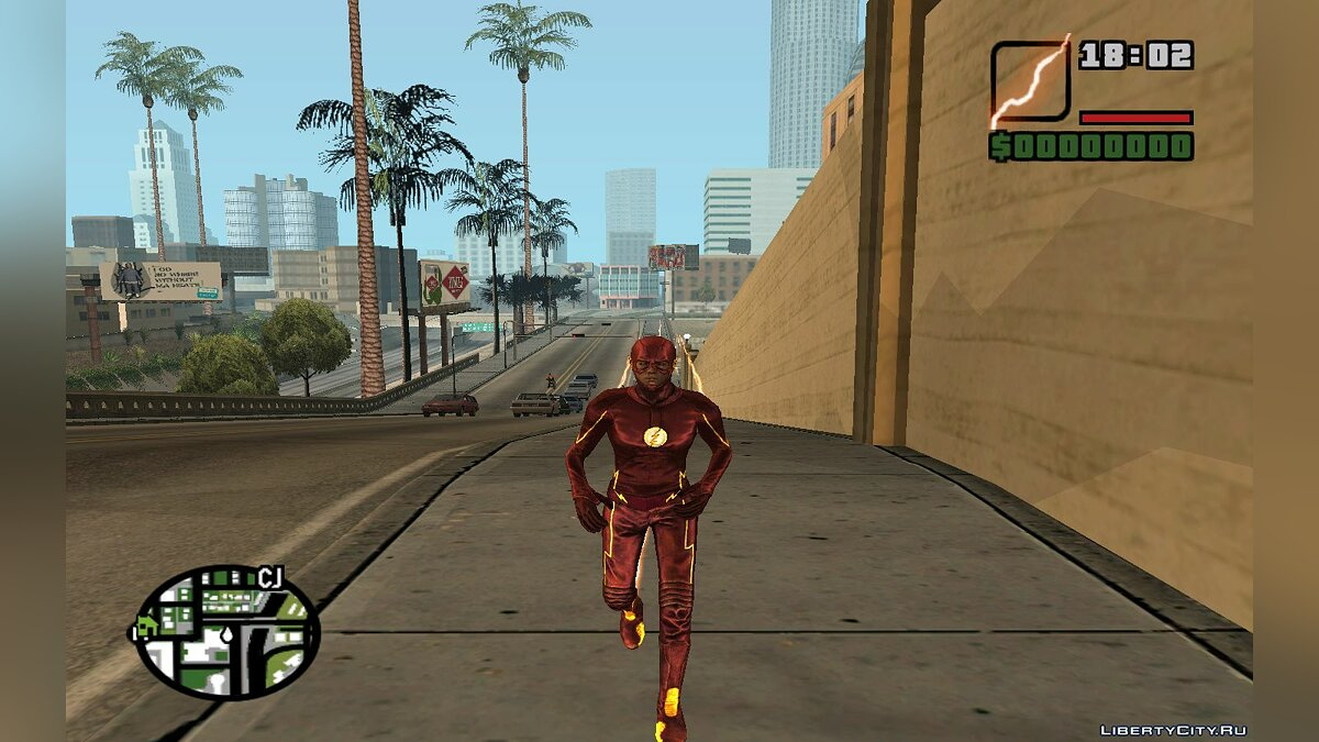 The Flash TV Pack для GTA San Andreas - скриншот #9