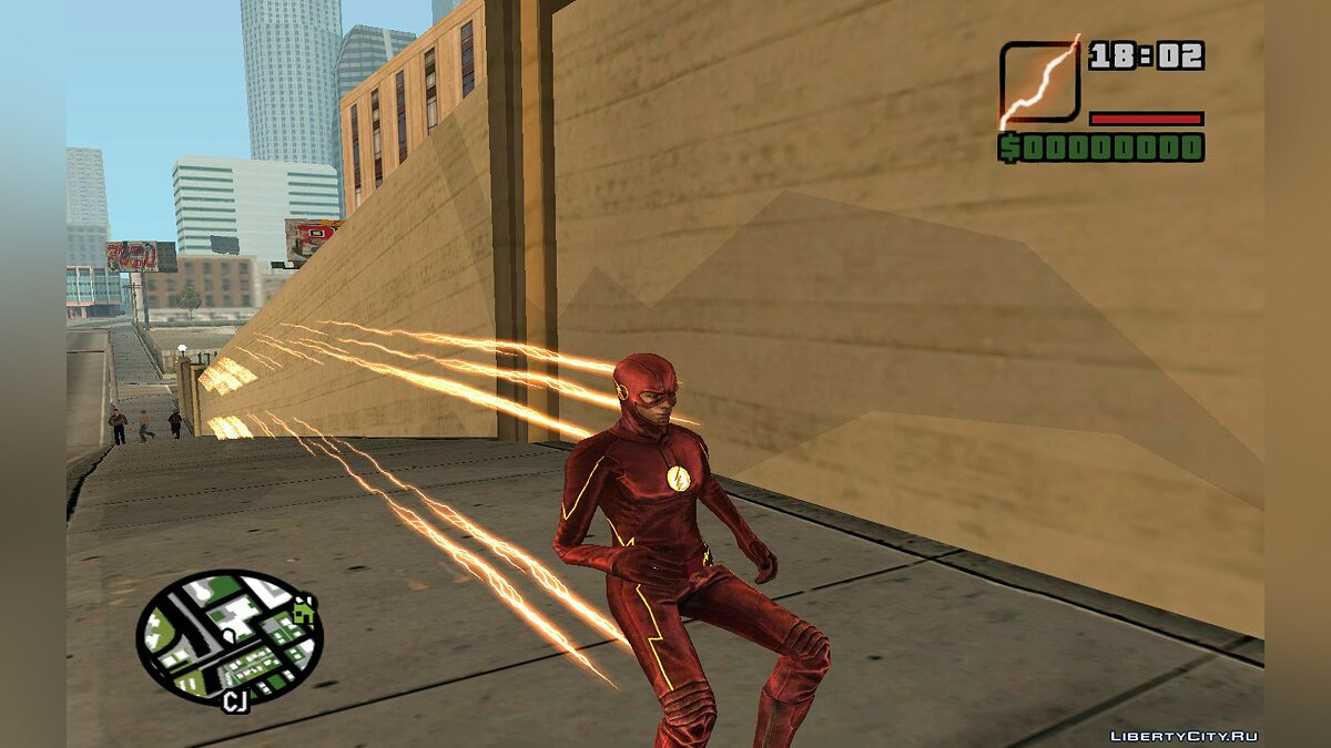 The Flash TV Pack для GTA San Andreas - скриншот #15