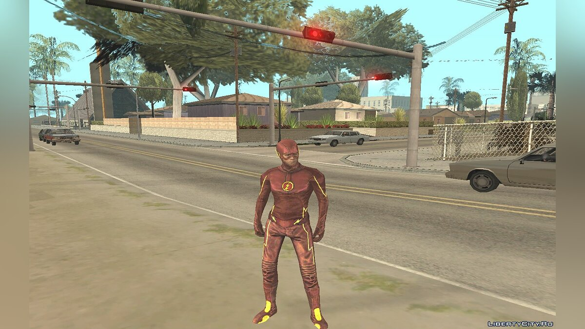 The Flash TV Pack для GTA San Andreas - скриншот #3