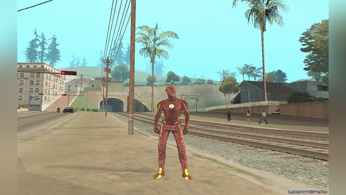 The Flash TV Pack для GTA San Andreas - скриншот #5