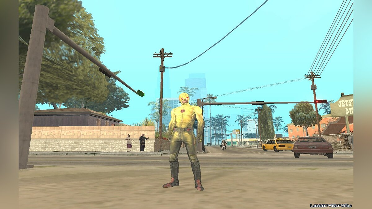 The Flash TV Pack для GTA San Andreas - скриншот #7