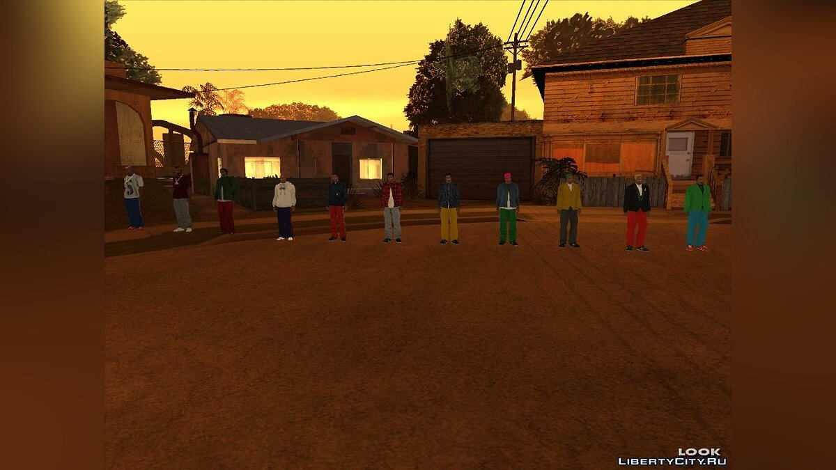Carl Collection для GTA San Andreas