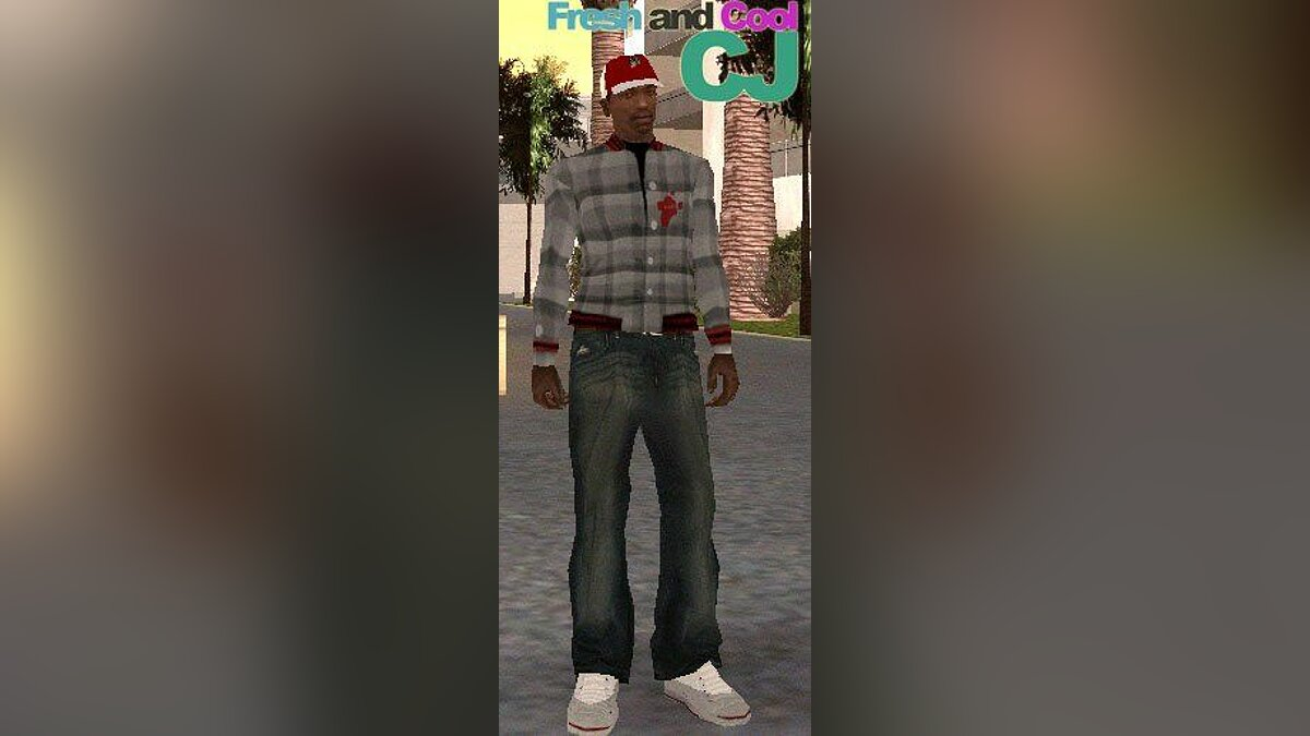Fresh and Cool CJ Release Two для GTA San Andreas
