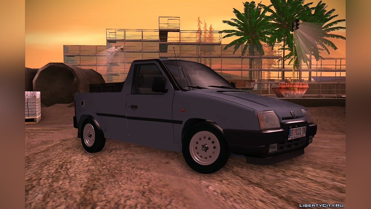 Машина Skoda Skoda Favorit Pickup для GTA San Andreas