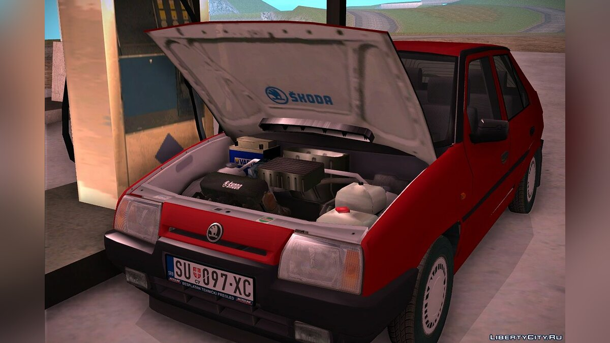 Машина Skoda 1994 Skoda Favorit для GTA San Andreas