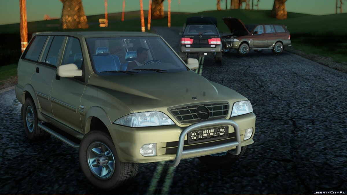 Машина SsangYong SsangYong Musso 2.3 для GTA San Andreas