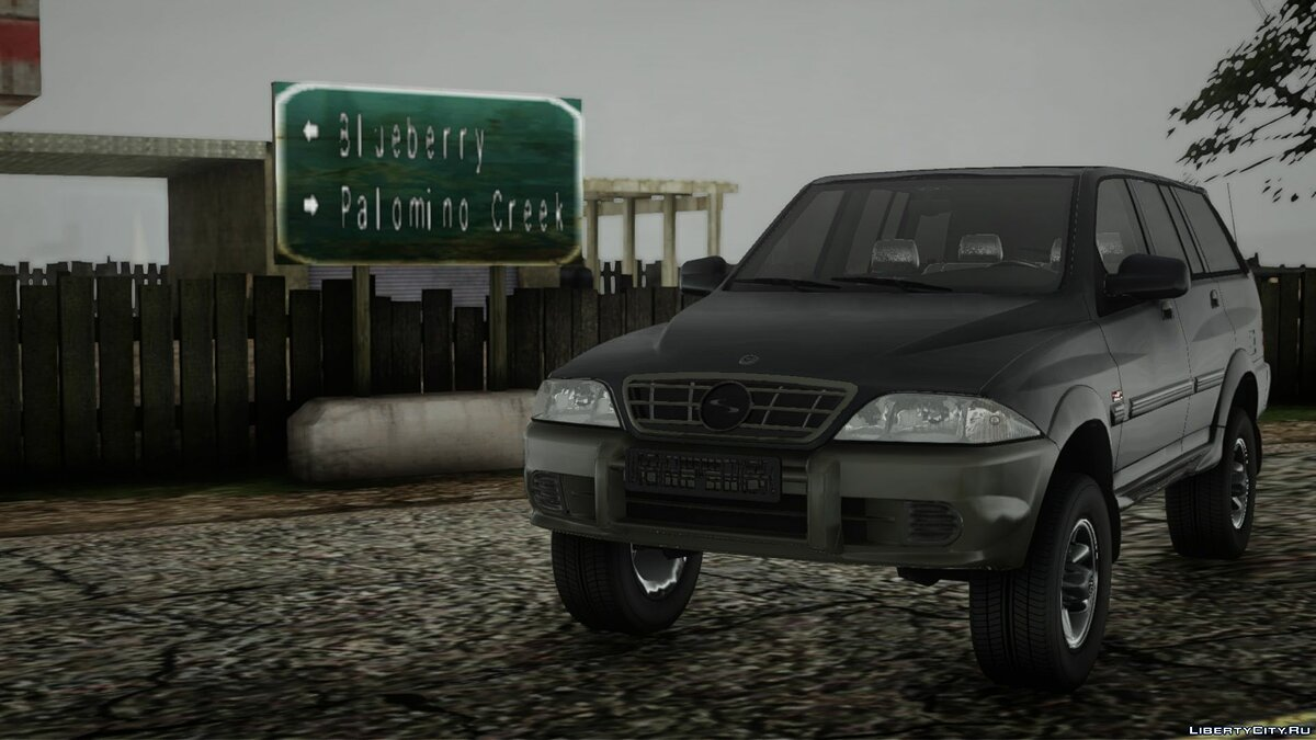 Машина SsangYong SsangYong Musso 2.9 для GTA San Andreas