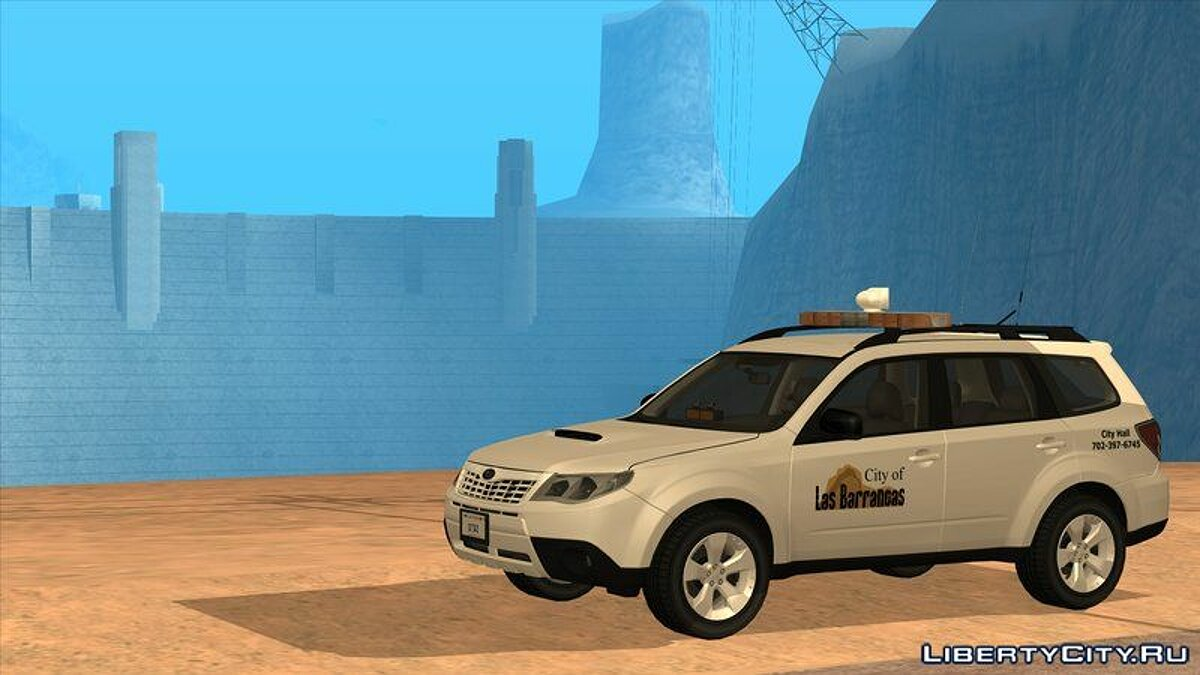 Машина Subaru 2011 Subaru Forester City of Las Barrancas для GTA San Andreas