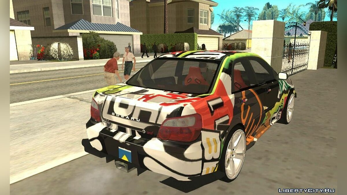 Subaru Impreza 2005 Mission Edition для GTA San Andreas - скриншот #2