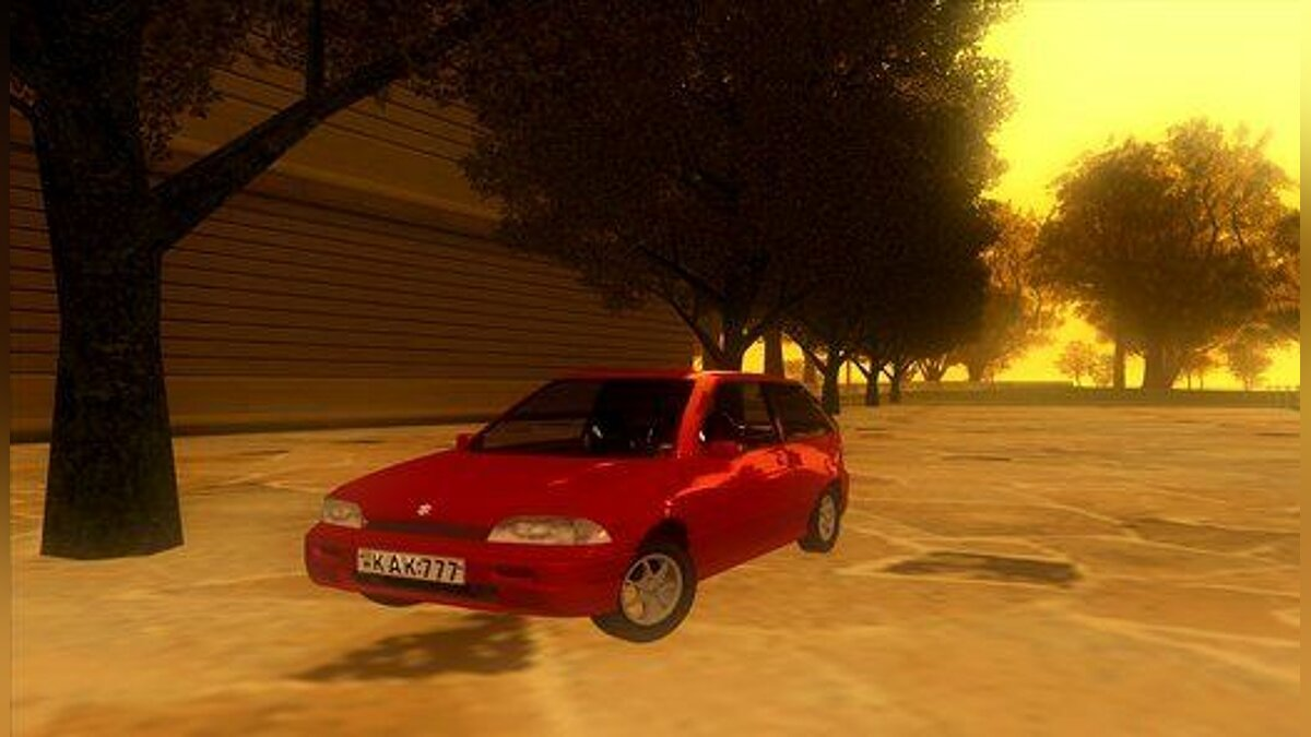 1993 Suzuki Swift GLX 1.3 для GTA San Andreas