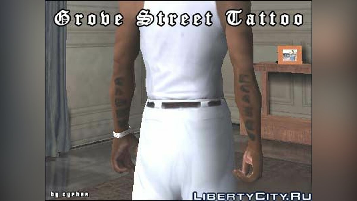 Grove Street Tattoo для GTA San Andreas