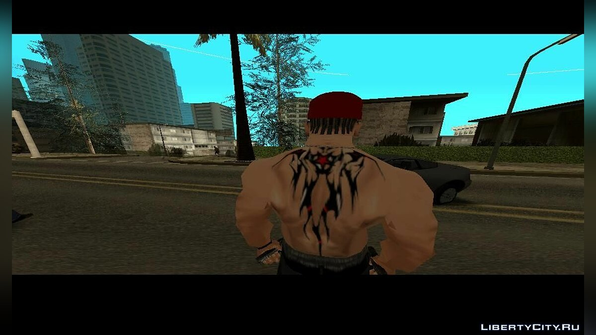 ��атуировка Color Tattoo для GTA San Andreas
