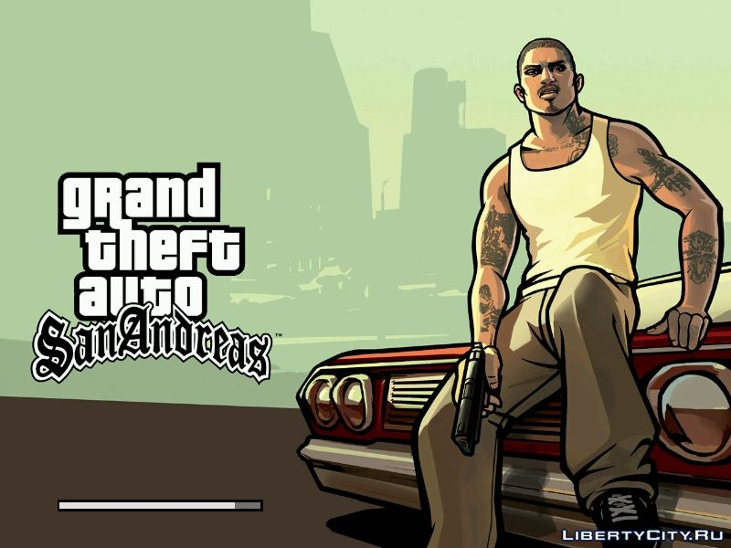 Grand theft auto San Andreas на Андроид
