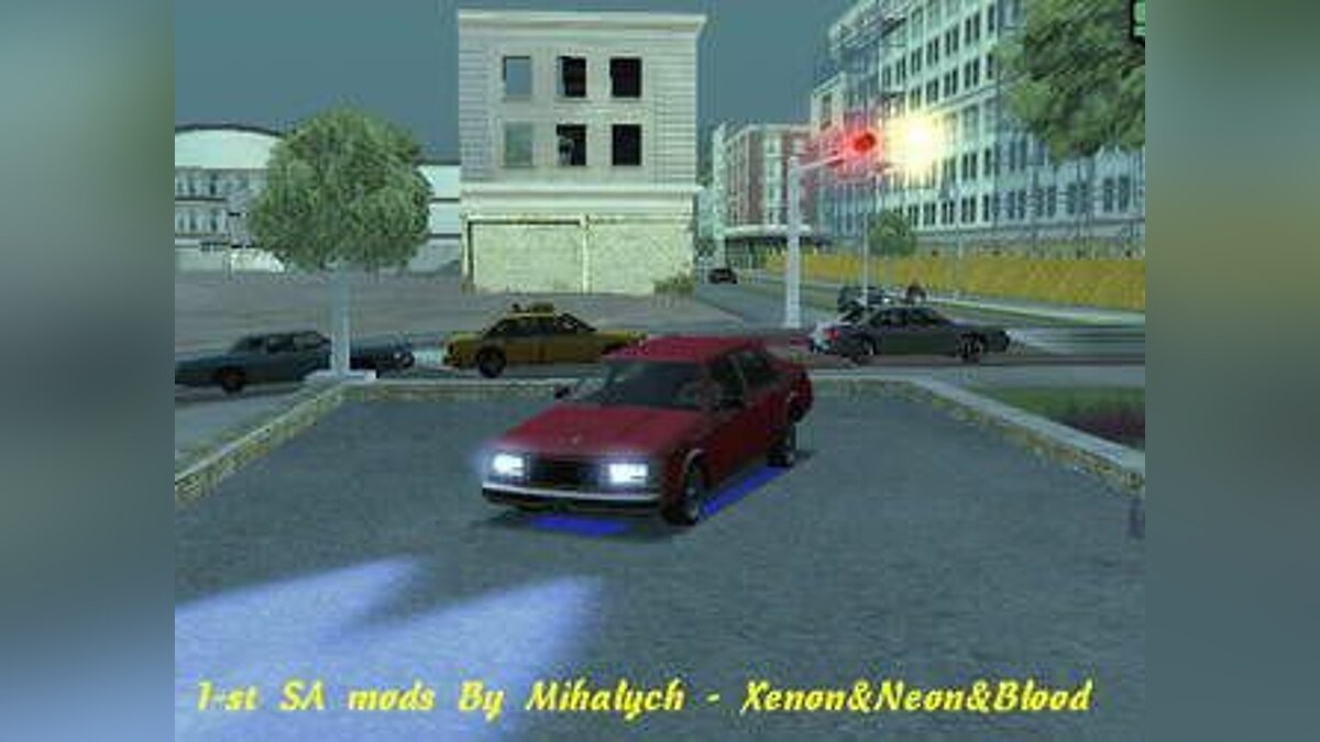 SA Xenon Neon Blood для GTA San Andreas