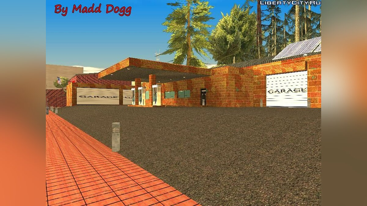 Garage in San Fierro v.2.0 для GTA San Andreas